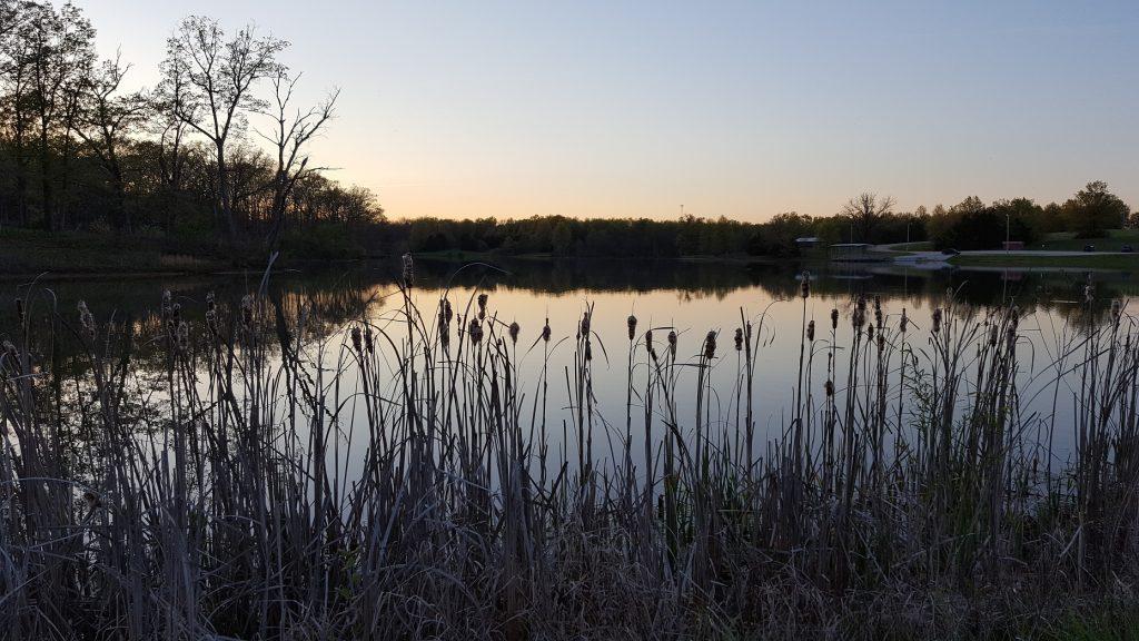 Pine Ridge Lake Sunset 1