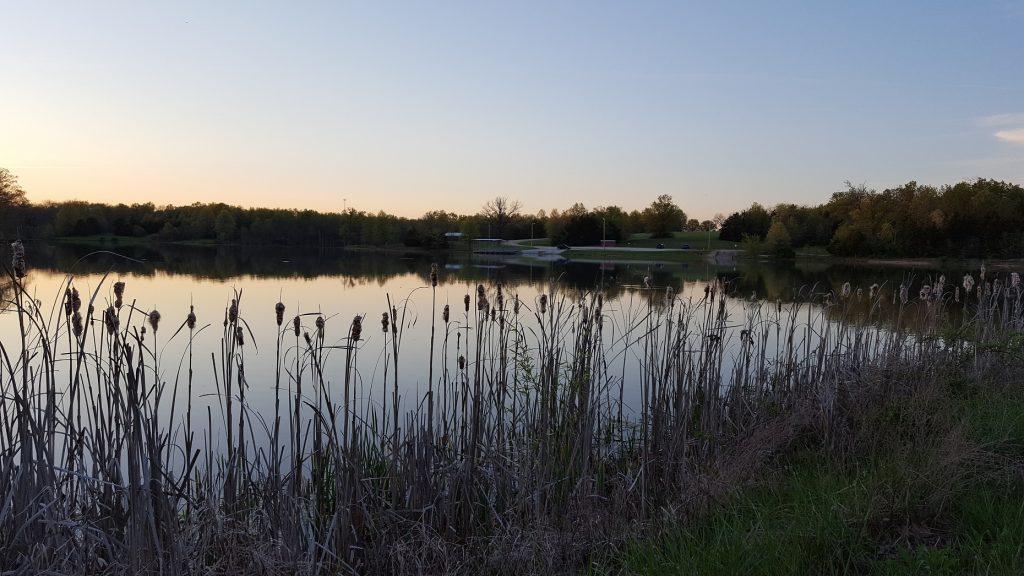Pine Ridge Lake Sunset 2